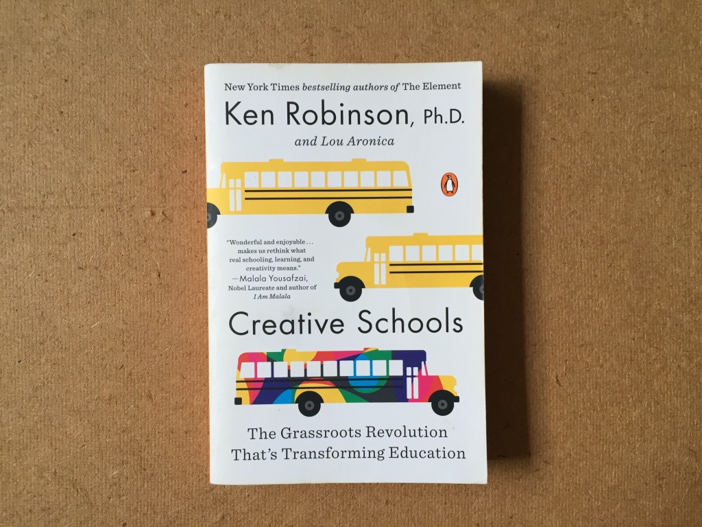 Photo of book Creative Schools by Ken Robinson, Ph.D.